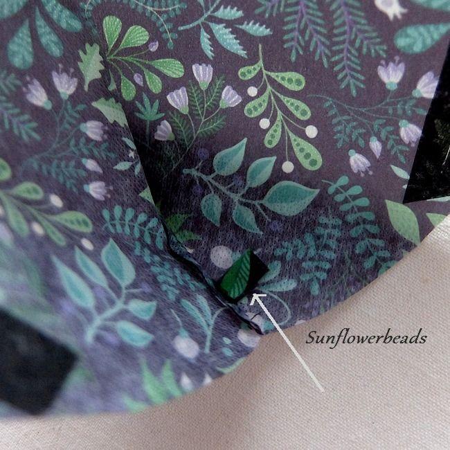 Kleinesbild - Überzug FFP2 Maske, Cover, Maskenüberzug aus Cover me Heiq Viroblock Filtervlies, schwarz grün