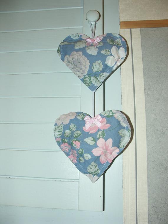 Kleinesbild - Deko - 2er- Herzgirlande