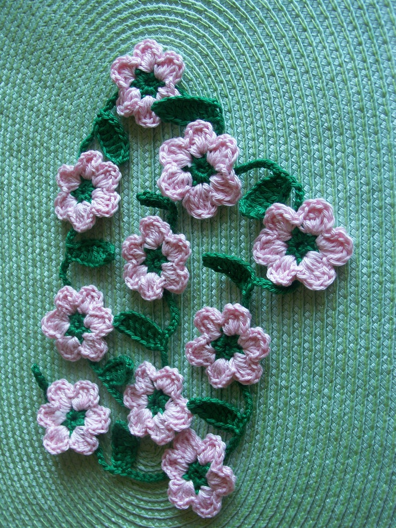 Kleinesbild - Blumengirlande - 80cm