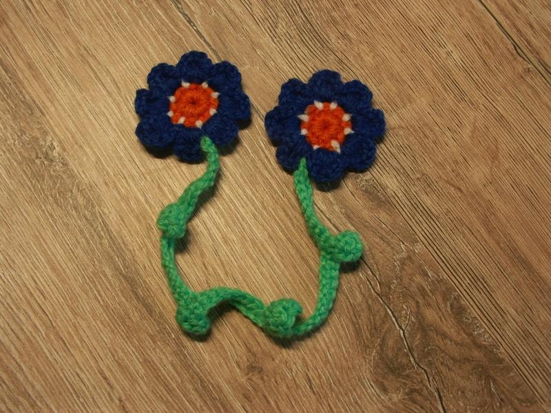 - Lesezeichen - Blume - Lesezeichen - Blume