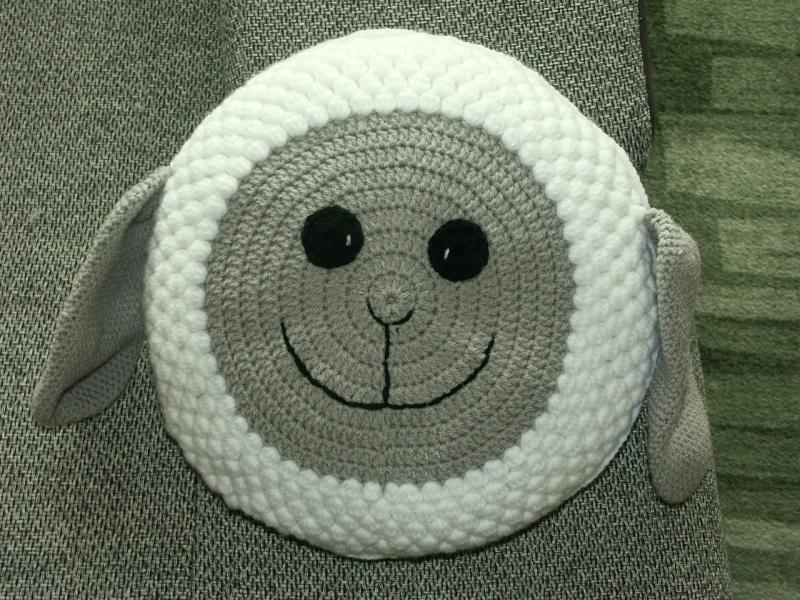 Kleinesbild - Kissen als Schaf