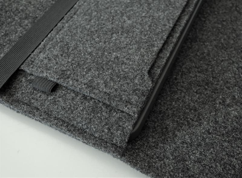 Kleinesbild - Laptoptasche aus Filz personalisierbar in Größe & Farbe - 12 Zoll 13 Zoll 14 Zoll Mac Book Surface Laptop Hülle Case mit Zubehörtasche