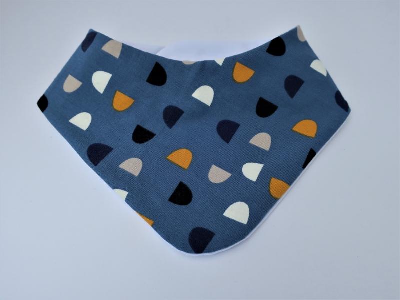 Kleinesbild - Babymütze und Dreieckstuch - ein hübsches Geschenk für Neugeborene - Gr. 62/68 - Baby Geschenkset