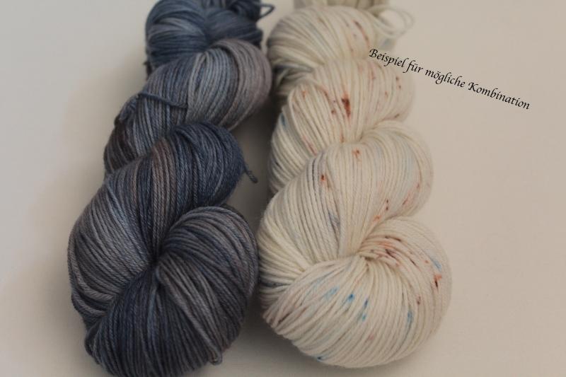 Kleinesbild - Handgefärbte Wolle Merino-Seide 19/5 von Farbenspielerei
