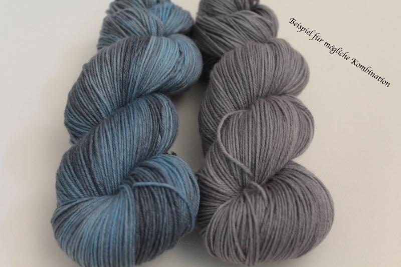 Kleinesbild - Handgefärbte Single-Merinowolle 19/6 von Farbenspielerei