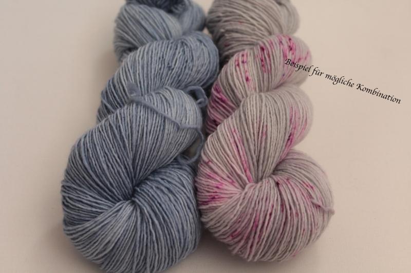 Kleinesbild - Handgefärbte Single-Merinowolle 19/7 von Farbenspielerei