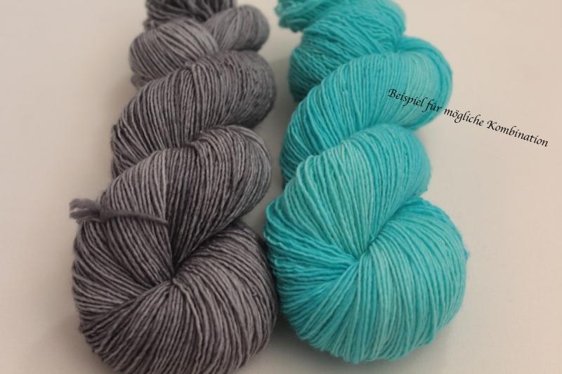 Kleinesbild - Handgefärbte Single-Merinowolle 19/8 von Farbenspielerei