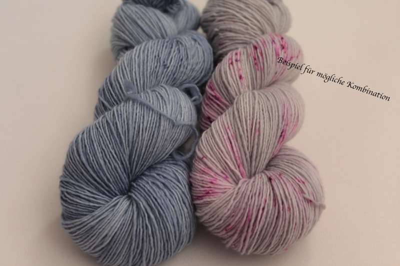 Kleinesbild - Handgefärbte Single-Merinowolle 19/13 von Farbenspielerei