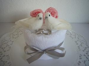 Hochzeit Geschenk Geldgeschenk Tauben Rosen Hochzeitsgeschenk - Handarbeit kaufen