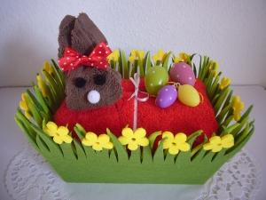 Osterkörbchen Osterhase Ostergeschenk Hase Geschenk Ostern
