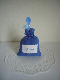Windeltorte Junge Geldgeschenk Geschenk Geburt Taufe blau - Handarbeit kaufen