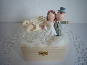 Hochzeitsgeschenk Geldgeschenk Geschenkbox Winter Hochzeit - Handarbeit kaufen