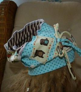 Handmade , Unikat, einzigartige  Beanie Teddy für Mädchen