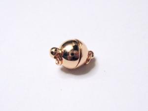 8 mm Magnetverschluss rosevergoldet