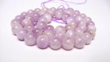 Kunzit Perlen 8 mm Edelstein Strang