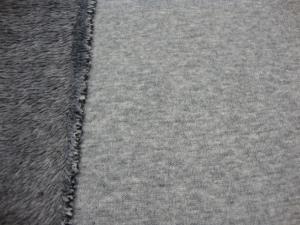 Alpenfleece Uni graumelange für Alle - Handarbeit kaufen