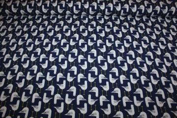 Jersey Möve blau marine Seagulls Stoffonkel