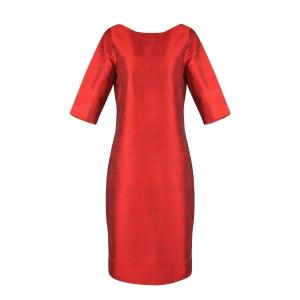 Designer-Kleid aus 100% Seide