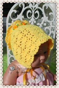 Babyjacke + Mütze gehäkelt
