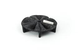 lamello Sanddollar Merino Filz Design Aufbewahren Präsentieren Organisieren Schützen #grey