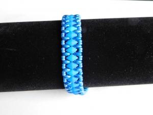 Armband blau silber