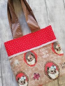 Kindertasche Handtasche ♡ Kindergarten-Tasche ♡ Eulen