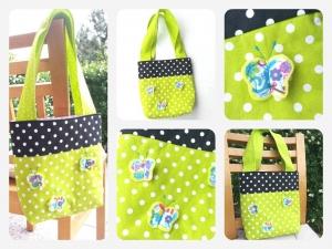 Kindertasche ♡Tasche ♡ Schmetterling Kindergartentasche