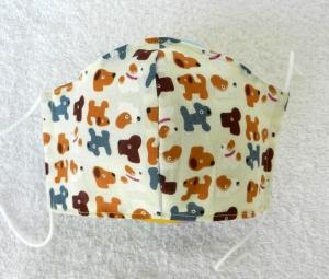 Mund-Nasen-Behelfsmaske für Kinder von 3-6 Jahre - Einkaufsmaske, Atemmaske, Stoffmaske - Handarbeit kaufen