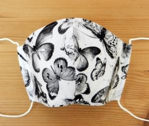 Mund-Nasen-Behelfsmaske für Erwachsene - Einkaufsmaske, Atemmaske, Stoffmaske