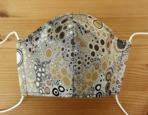 Mund-Nasen-Behelfsmaske für Erwachsene - Einkaufsmaske, Atemmaske, Stoffmaske - Designerstoff