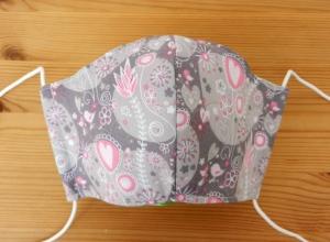 Mund-Nasen-Behelfsmaske für Kinder von 7-12 Jahre - Einkaufsmaske, Atemmaske, Stoffmaske - Handarbeit kaufen