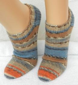 Sneakers, Füßlinge Gr. 38-39 - mustergleich - ♡ kunterbunt ♡ - Handarbeit kaufen