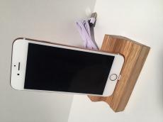 iPhone 6 / 6S / 7 / Plus Dockingstation Ladestation Tischlader Eichenholz