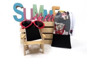 Handytasche Brillenetui ♥ Bulldogge ♥ mit schwarzem Kunstleder und weich gepolstert - kostenloser Versand - Handarbeit kaufen