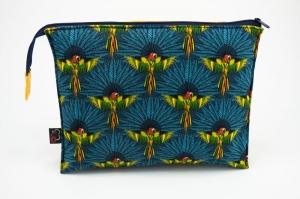 Kosmetiktasche ♥AMAZONAS♥ mit 3 Fächern ♡ Taschenorganizer für Kosmetik und mehr - Handarbeit kaufen
