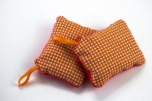 ZERO WASTE Spülschwämme 2er-Pack ♡ 60°C waschbar, trocknergeeignet ♡ der Umwelt zuliebe wiederverwendbar - Handarbeit kaufen