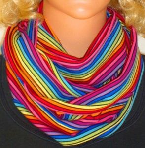 Loop/Schlauchschal Multicolor