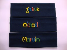 Stirnband mit Namen marine