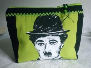 Kulturbeutel / Kosmetiktasche Charlie Chaplin