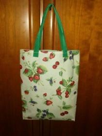 Shopper mit Obstmotiv - Handarbeit kaufen