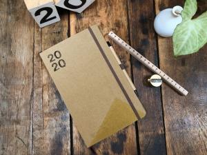 taschenkalender/jahreskalender 2020, D/E A5