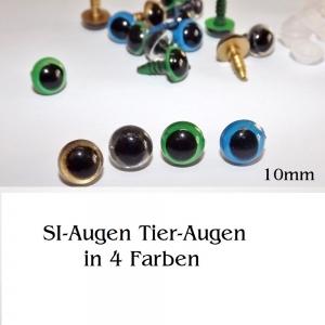 Teddy-Augen Sicherheitsaugen Plüschtier-Augen 4er-Set Kuscheltier - Handarbeit kaufen