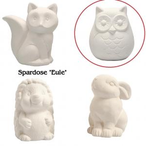Sparbüchse Spardose aus weißem Terracotta Rohlinge verziehren - Handarbeit kaufen
