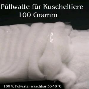 Füllwatte Kuscheltierwatte Plüschtierfüllung Bastelwatte zum ausstopfen 100% Synthetik Waschbar - Handarbeit kaufen