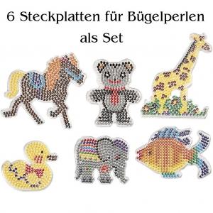 Grundplatte/Steckplatte für 5mm Bügelperlen Walzenperlen Sonderformen, Tiere - Handarbeit kaufen