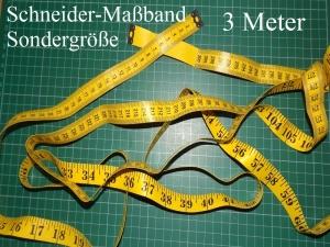 Maßband 3 Meter Metermaß Schneidermaßband 300 cm Vinyl-Maßband Bandmaß Körperbandmaß Hobby und Freizeit - Handarbeit kaufen