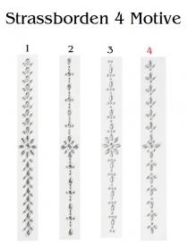 Strass-Stein-Borde Variante 4 für Glückwunschkarten, Glitzer auf Möbel u.v.m BastelTruhe Markkleeberg - Handarbeit kaufen