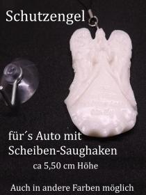 Schutzengel mit Spruch Auto Schlüsselanhänger handgefertigt Geschenke Glücksbringer Auto Führerschein fahren - Handarbeit kaufen