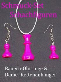 Schmuck-Set Schachfiguren  - Handarbeit kaufen