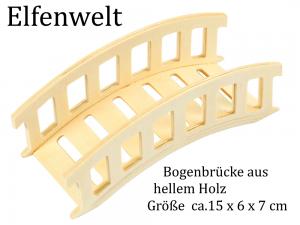 Elfenwelt Bogenbrücke Mini Elfenlandschaft Steingarten Fairy Garden Wichtel & Feen - Handarbeit kaufen